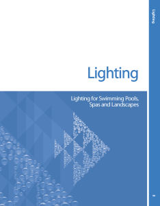 pool product catalogs Pool Lighting