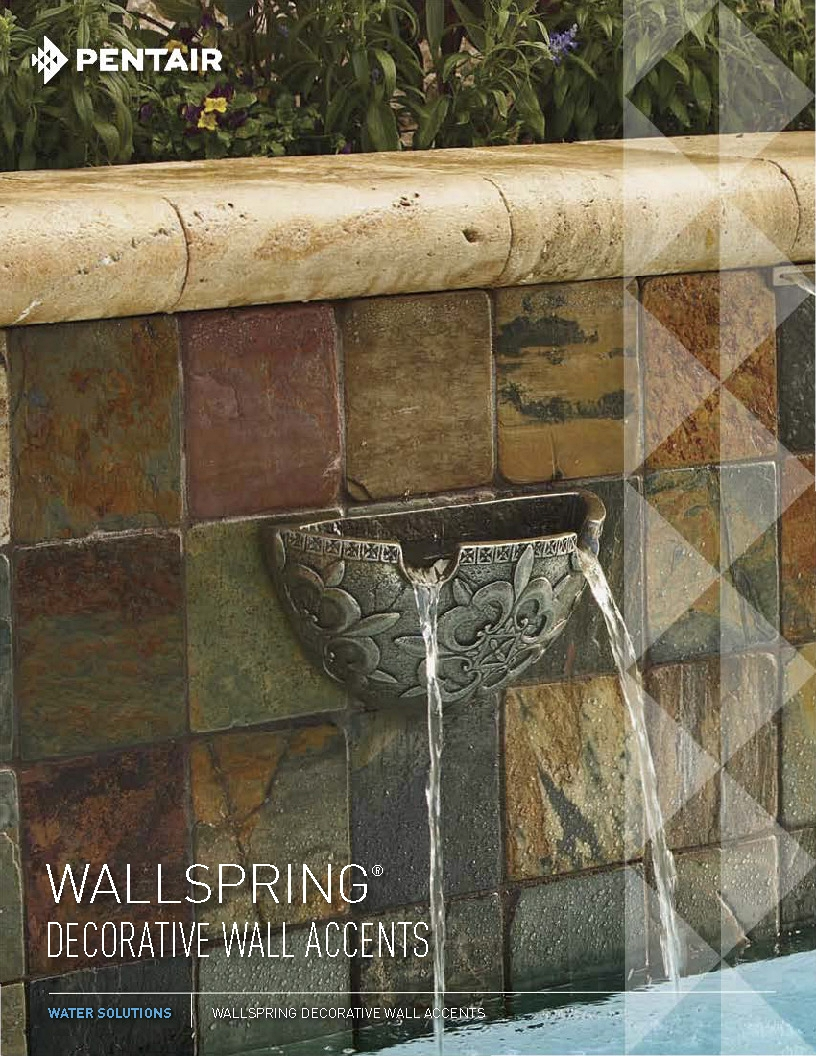 Wallspring Decorative Wall Accents By Pentair