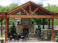 Custom Outdoor Arbor (3)
