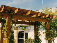 Custom Outdoor Arbor (5)