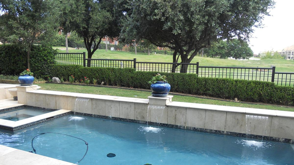 Aquatic pools and spas services for Custom inground swimming pools
