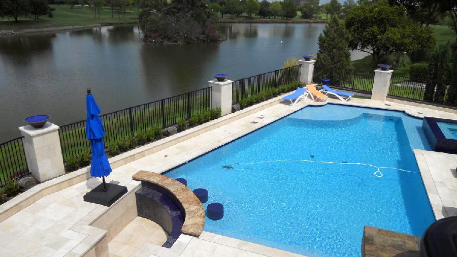 Swimming Pool Companies : Las colinas swimming pool construction