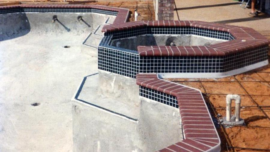 Tile And Coping Coping Is Installed Around The Perimeter Of Your Pool