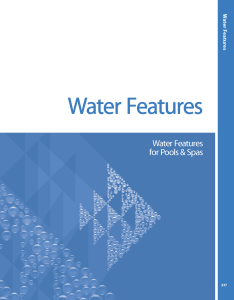 pool product catalogs Water Features